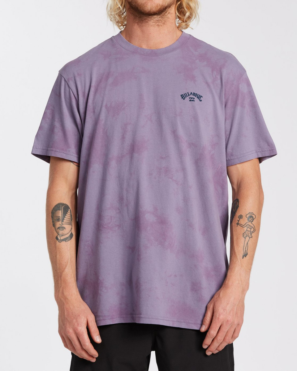 Мужская футболка Arch Wave Tie Dye