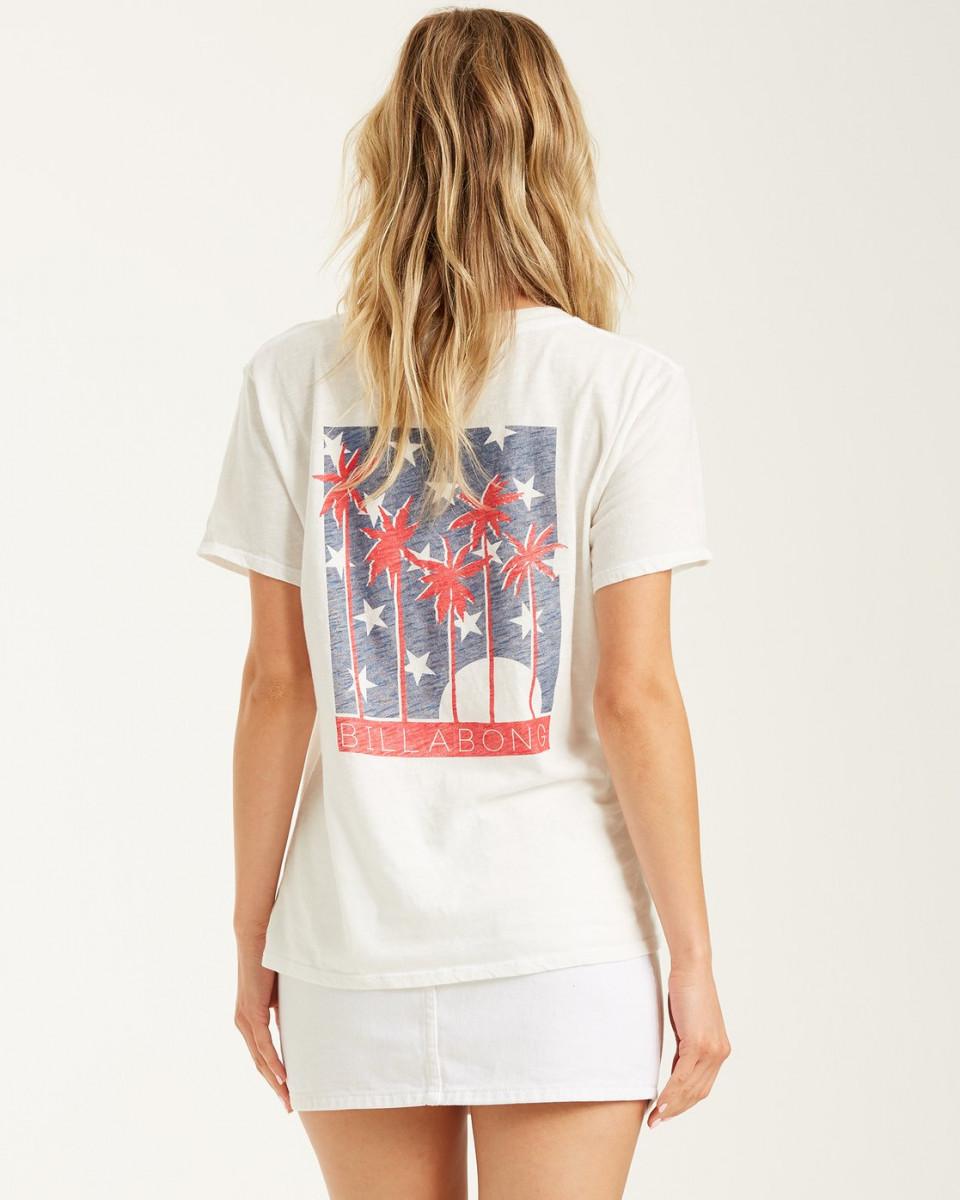 Женская футболка Stars and Palms