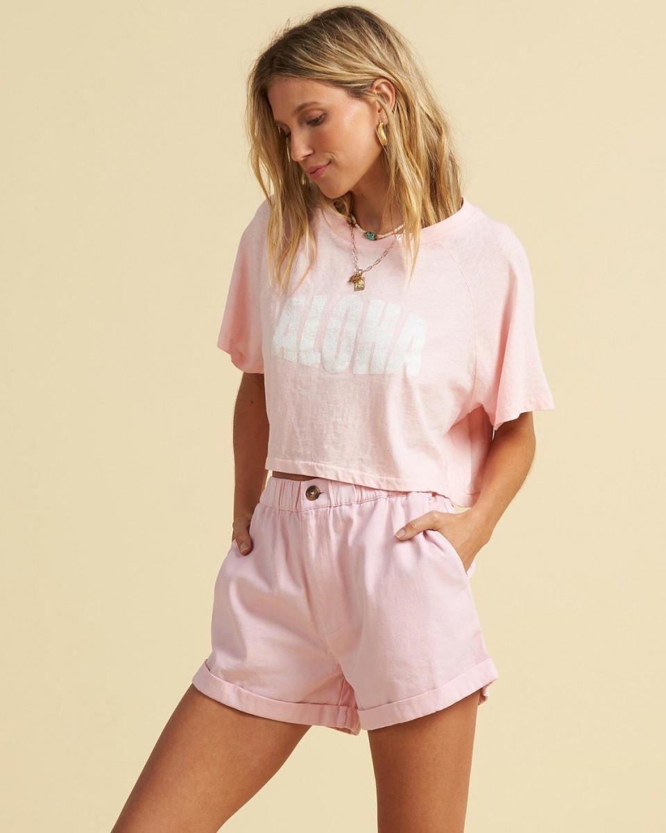 Женская футболка Salty Blonde Just Beachin