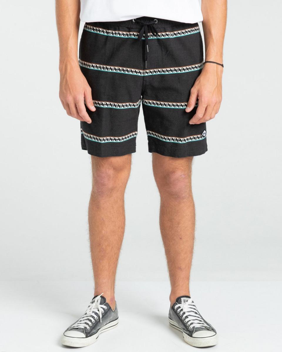 "Мужские эластичные шорты Larry Jacquard 17.5"""