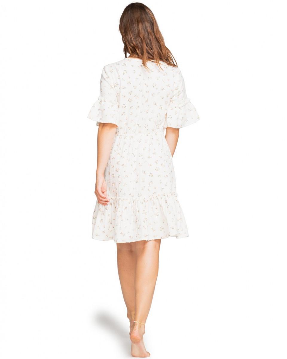 Женское мини платье с короткими рукавами Sincerely Jules Lovers Wish