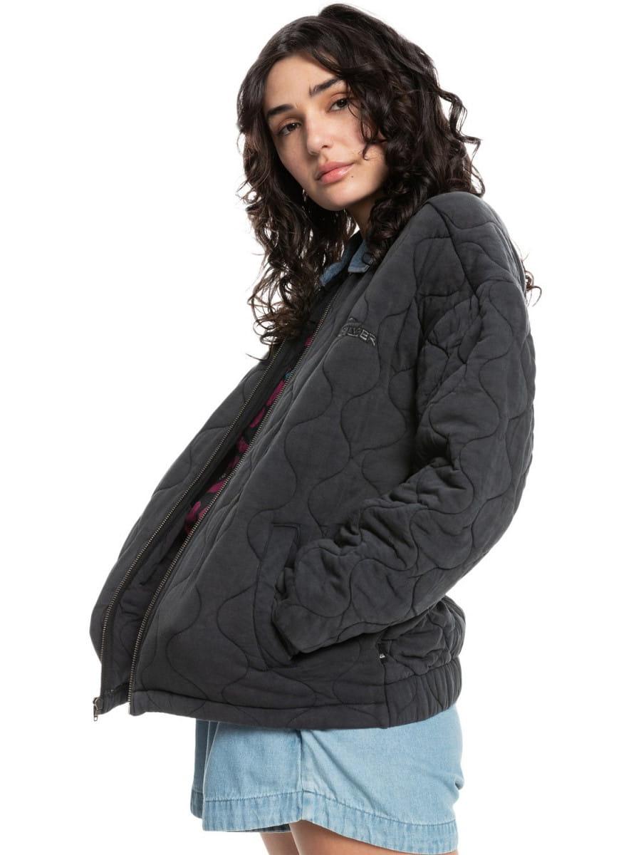 Жен./Одежда/Верхняя одежда/Бомберы Женская куртка Quiksilver Womens Deeper Ocean
