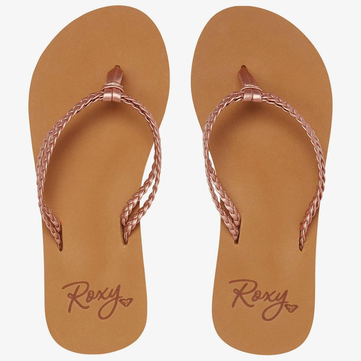 Дет./Обувь/Шлепанцы/Вьетнамки Вьетнамки детские Roxy Costas Sndl Rose Gold