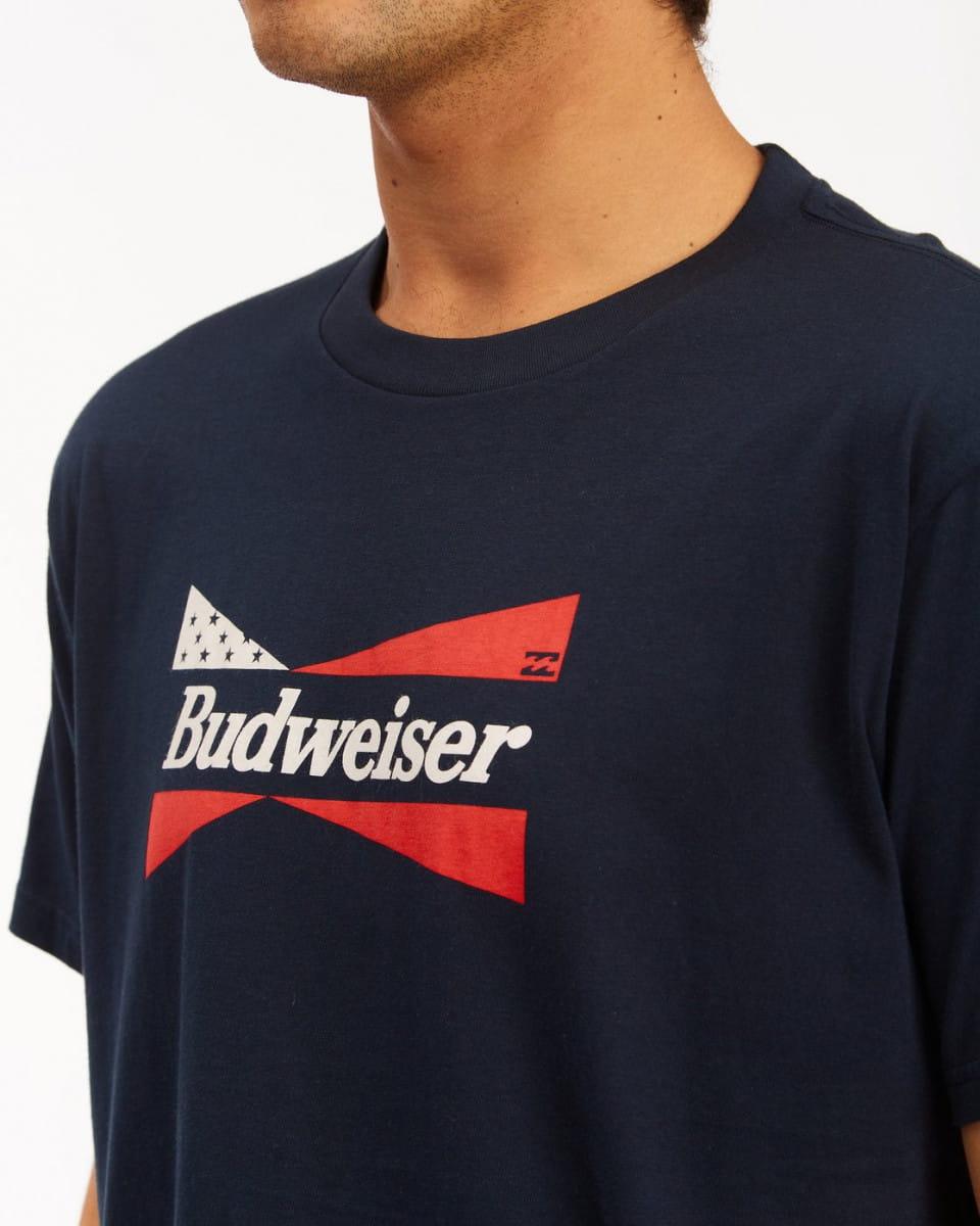 Муж./Одежда/Футболки, поло и лонгсливы/Футболки Мужская футболка Bud Flag
