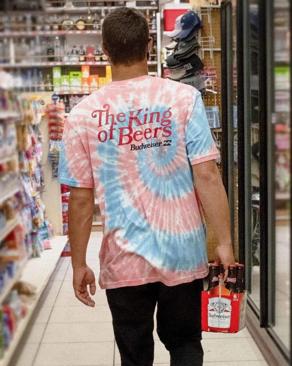 Мужская футболка Bud King Of Beers
