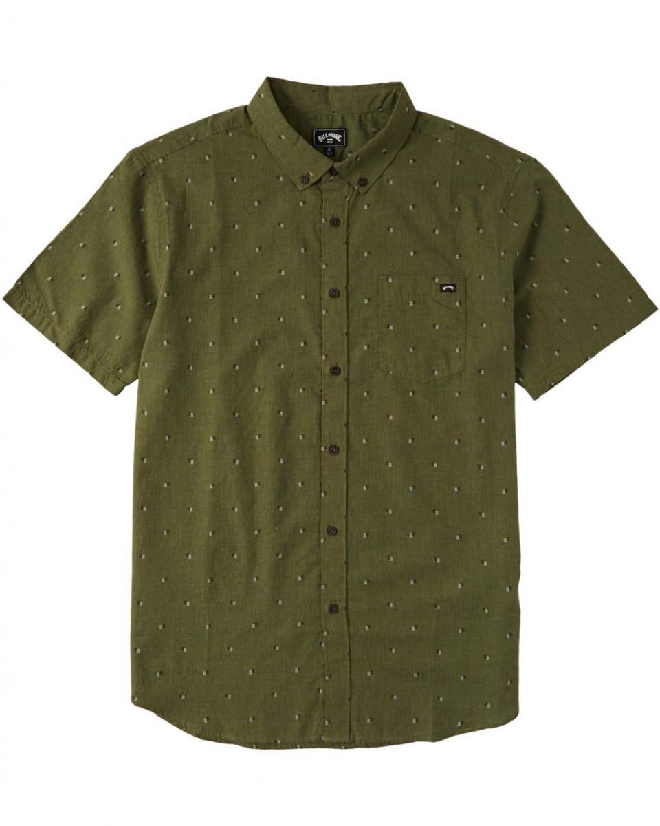 Мужская рубашка с коротким рукавом All Day Jacquard