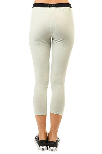 Жен./Одежда/Термобелье/Термо-штаны Термобелье (низ) женское Super Natural Base 3/4 Tight 230 Sea Ice