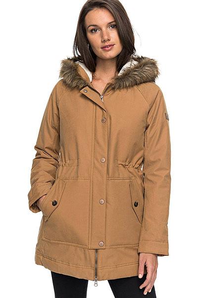 Куртка женская Roxy Mountain Song Tobacco Brown2
