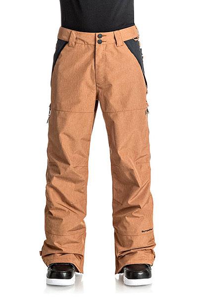 Штаны сноубордические DC Shoes Nomad Leather Brown2