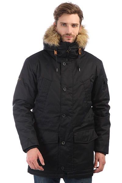 Куртка парка Quiksilver Ferris Parka Black1