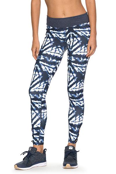 Леггинсы женские Roxy Naturaltwist Pt Dress Blues Geometri3