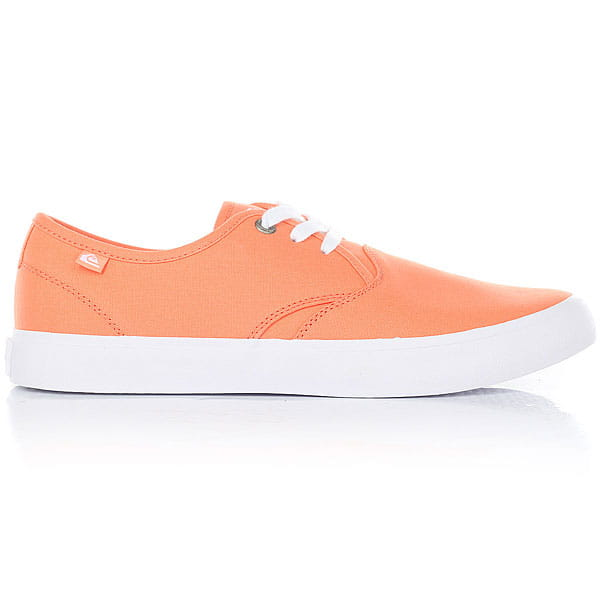 Кеды низкие Quiksilver Shorebreak Orange/Black1