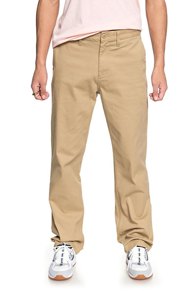 Штаны прямые DC Worker Relaxed Khaki3
