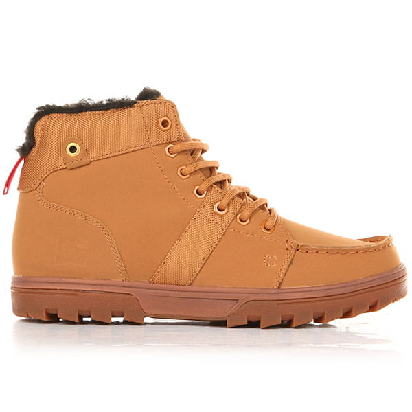 Ботинки зимние DC Shoes Woodland Boot Wheat/Black2