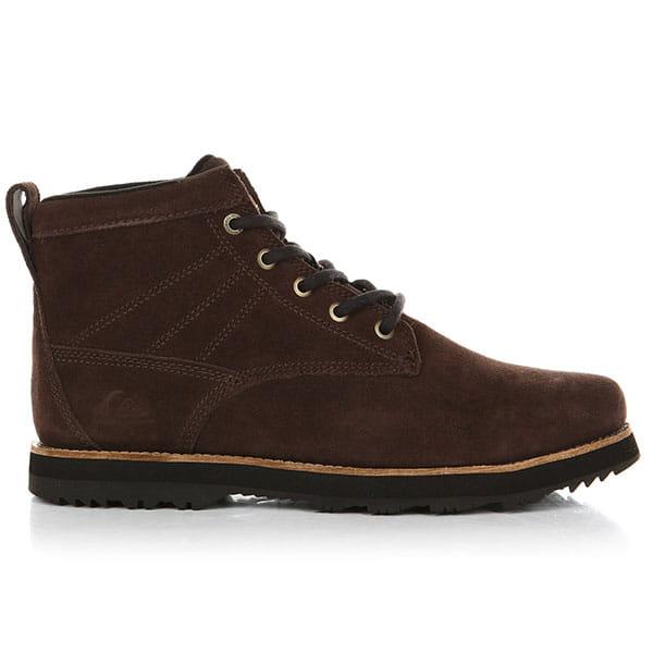 Ботинки высокие QUIKSILVER Gart Brown/Brown/Black2