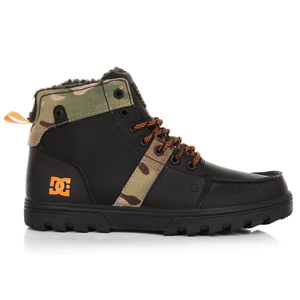 Ботинки зимние DC Woodland Black/Multi2