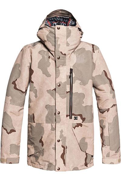 Куртка сноубордическая DC Outlier Incense Dcu Camo1