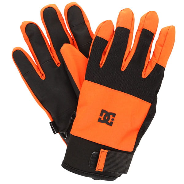 Перчатки сноубордические DC Industry Glove Red Orange