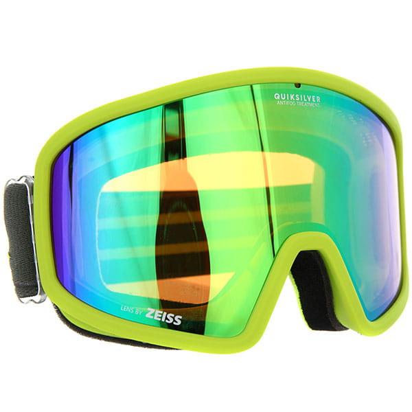 Маска для сноуборда QUIKSILVER Browdy Lime Green3