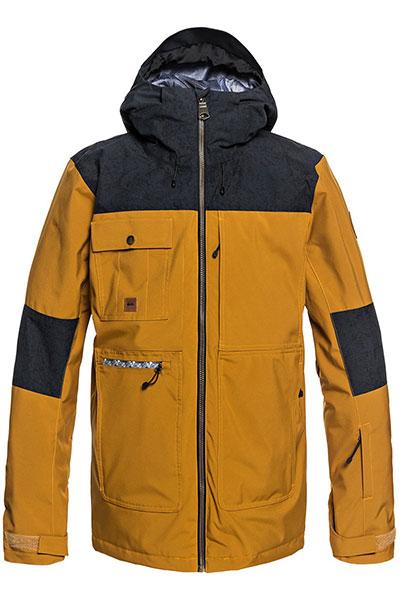 Куртка сноубордическая QUIKSILVER Arrow Wood Golden Brown1
