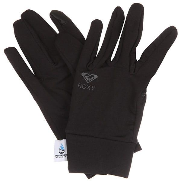 Перчатки сноубордические женские Roxy Hyd Liner Glove True Black