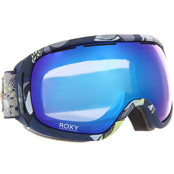 Маска для сноуборда женская Roxy Rockferry Crown Blue bold Peta