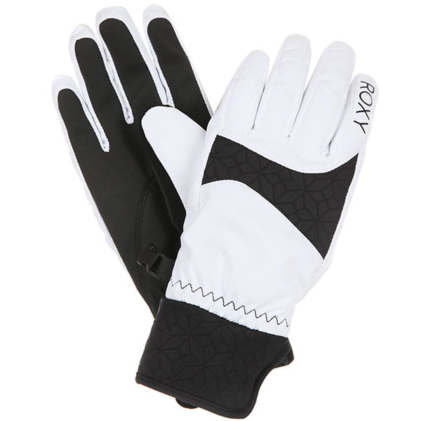 Перчатки сноубордические женские Roxy Big Bear Gloves Bright Whitе