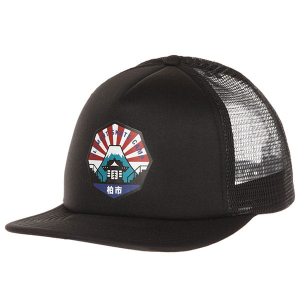 Бейсболка с сеткой Element Ea Trucker Cap Flint Black_1
