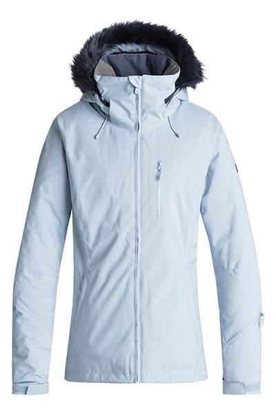 Куртка сноубордическая женская Roxy Down T Line Powder Blue
