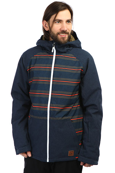 Куртка сноубордическая Billabong All Day Cali Blue Heath
