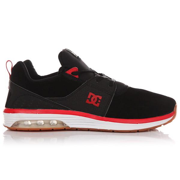Кеды низкие DC Heathrow Ia Se Black/Athletic Red