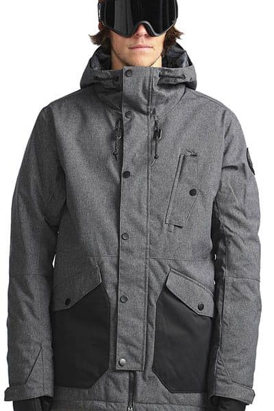 Куртка утепленная L6JM05-BIF8 Asphalt Heather