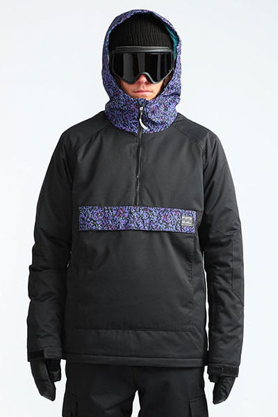 Анорак сноубордический L6JM13-BIF8 Black Caviar