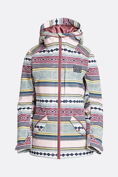 Куртка утепленная Sula Printed Nile Blue