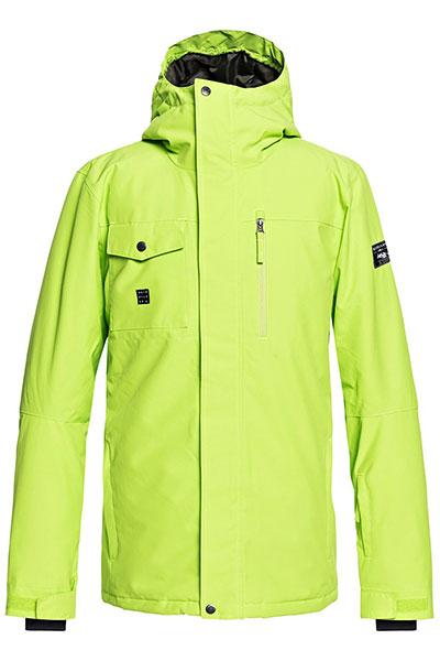 Куртка зимняя QUIKSILVER Mission Soli Lime Green
