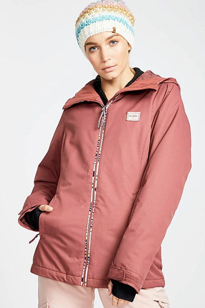 Куртка утепленная L6JF01-BIF8 Crushd Berry