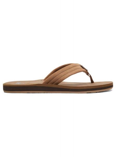 Муж./Обувь/Сланцы/Сланцы Кожаные мужские сланцы Carver Suede
