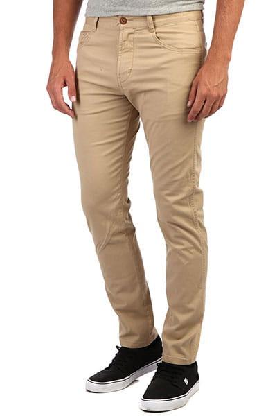Муж./Одежда/Джинсы и брюки/Прямые брюки Мужские брюки-чинос Krandy