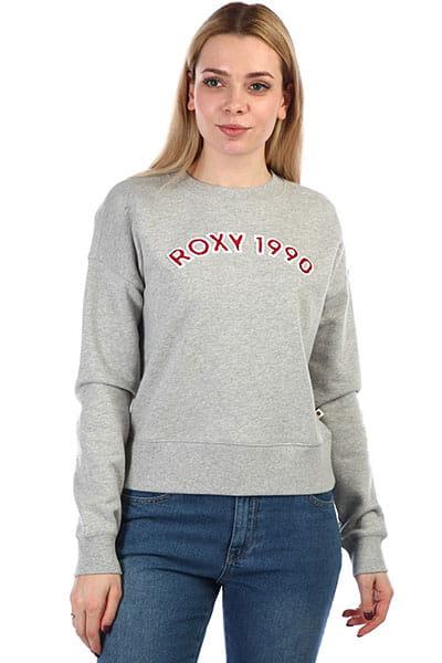 2446f3e3cd8b Roxy толстовка классическая ERJFT03920-SGRH купить в интернет-магазине  Brd.ru