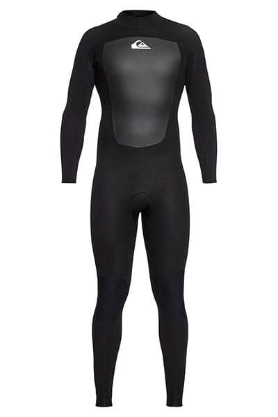 Бирюзовый мужской гидрокостюм с молнией на спине 4/3mm prologue