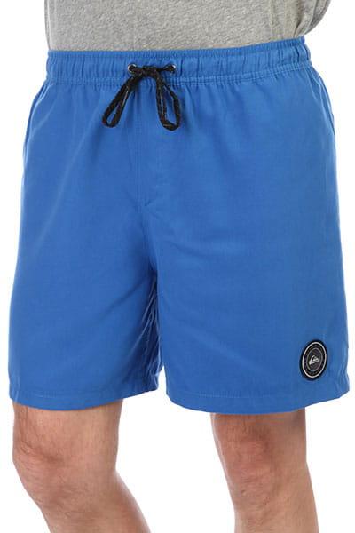 Синий мужские пляжные шорты bright cobalt