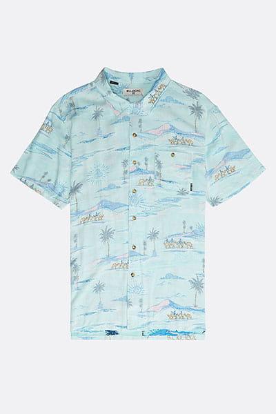 Рубашка Vacay Print Mint
