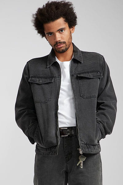Куртка джинсовая N1JK06-BIP9 Vintage Black