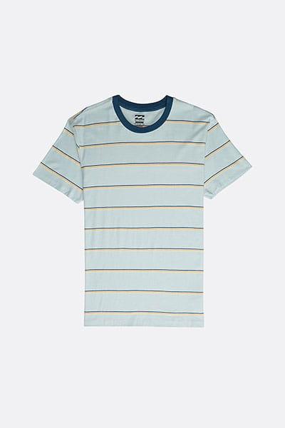Футболка Die Cut Stripe Dusty Blue