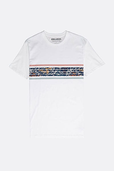 Футболка Team Stripes Tee White