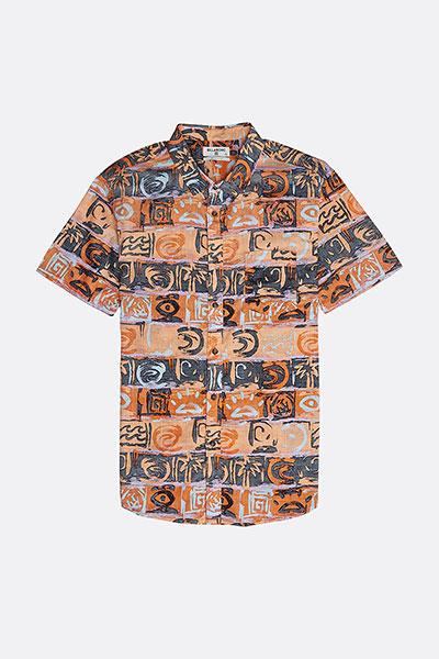 Рубашки с коротким рукавом N1SH02-BIP9 Orange