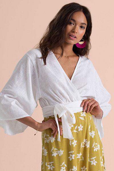 Блузка N3TP19-BIP9 Golden Hour