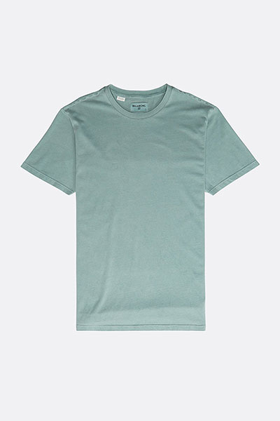 Футболка All Day Washed Crew Dust Green