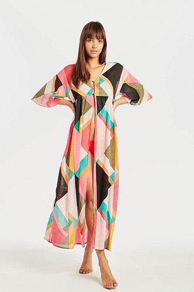 Платье N3OS01-BIP9 Geo