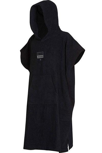 Пончо Hoodie Towel Black